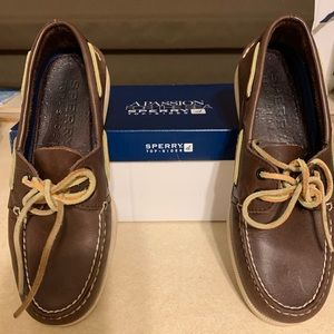 Men's size 9 brown Sperrys